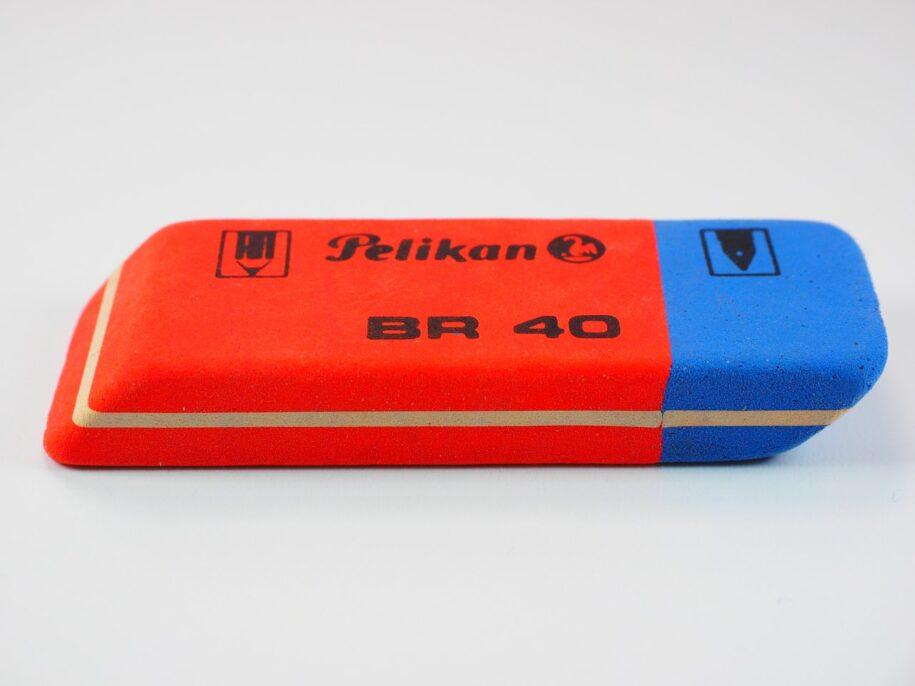 Red/blue eraser